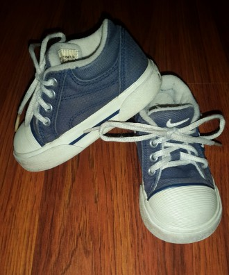 Продам детские оригинальные кеды фирмы Nike. Одесса. фото 1