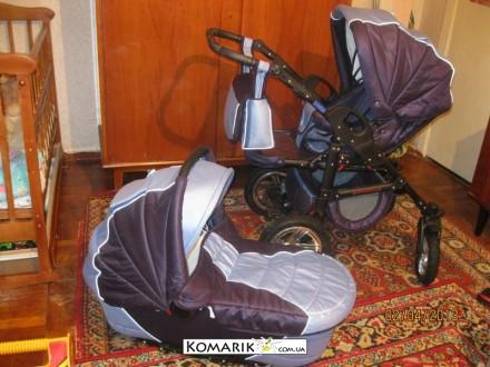 польская Универсальная коляска Венеция Wenecja Bambino 2 в 1. Николаев. фото 1