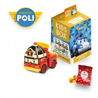 Поли Робокар Свитбокс Kids Box мармелад  с игрушкой  Poli Robocar. Николаев. фото 1