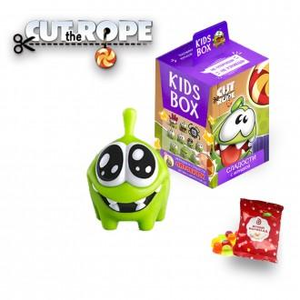 Cut the rope Ам-ням Свитбокс Kids Box мармелад  с игрушкой. Николаев. фото 1