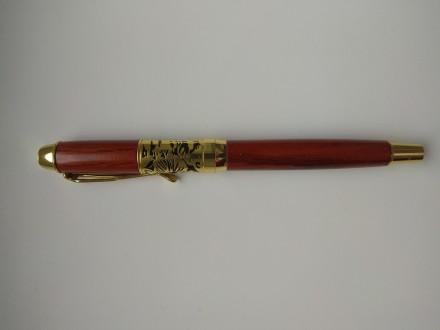 Перьевая ручка из натурального дерева Dika Wen. Харьков. фото 1