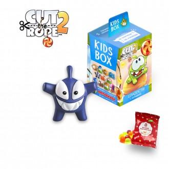 Cut the rope2  Ам-ням 2  Свитбокс Kids Box мармелад  с игрушкой. Николаев. фото 1