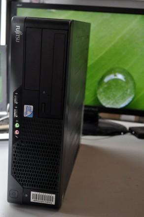 c2d 2.7ghz / ddr2 4gb / hdd 160gb -міні ПК Fujitsu Esprimo E7935 E85+. Львов. фото 1