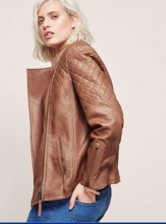 Кожанная куртка - жакет, отличного качества, пог 51, mango , эквивалент сто эвро. Желтые Воды. фото 1