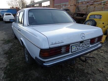 mercedes W123 240 diesel. Киев. фото 1