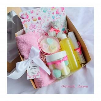 Подарочный набор для девушки, натуральная косметика. Киев. фото 1