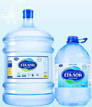 Бутилированная вода Эталон Классическая, 18.9л. Черкассы. фото 1
