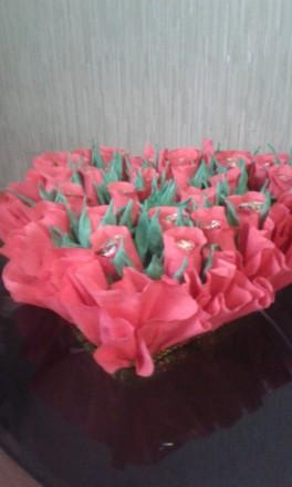букеты из конфет. Гадяч. фото 1