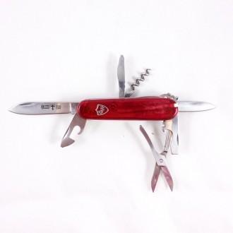 Нож многофункциональный 17 элементов 160 мм 0312. Хмельницкий. фото 1
