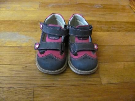 cc2855833a43f9 Шкіряні (Нубук) дитячі турецькі туфлі у хорошому стані, розмір 22, устілка  14 см. 100 ГРН. Хмельницький