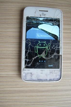 Мобильный телефон Fly IQ434 White (TZ-1256). Киев. фото 1