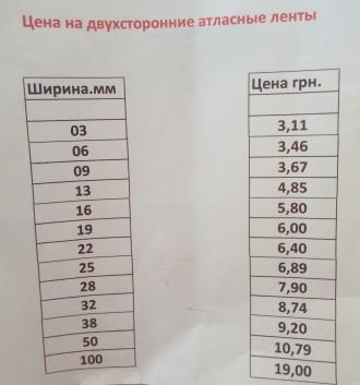 Вашему вниманию предлагаются  двухсторонние атласные ленты.  Производитель: Фр. Киев, Киевская область. фото 3