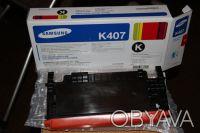 Картриджи Samsung CLT-K407S для Samsung CLP-320 / CLP-320N / CLP-325 / CLP-325W. Киев. фото 1