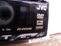 Продаю Б/У автомагнитолу JVC KD-DV4202. Состояние рабочее, отличное качество, бе. Новомосковск, Днепропетровская область. фото 5