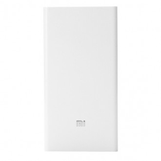 Внешний аккумулятор (Power Bank) Xiaomi Mi power bank 20000mAh White. Киев. фото 1