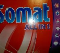Таблетки для посудомоечных машин Somat ALL IN 1 - 84шт  German Quality = Немецк. Киев, Киевская область. фото 5