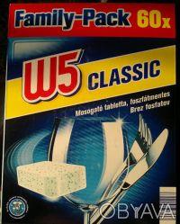 W5 Classic - европейские таблетки для посудомоечных машин  Количество: 60 шт  . Киев, Киевская область. фото 2