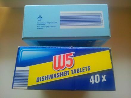 W5 Classic - европейские таблетки для посудомоечных машин  Количество: 60 шт  . Киев, Киевская область. фото 11