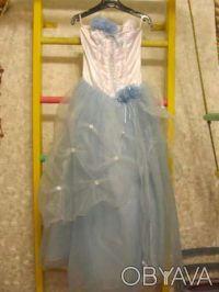 Нарядное платье розовое Цена 350 грн. Состояние хорошее. Покупали на выпуск в 4 . Киев, Киевская область. фото 11