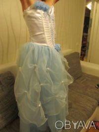 Нарядное платье розовое Цена 350 грн. Состояние хорошее. Покупали на выпуск в 4 . Киев, Киевская область. фото 9