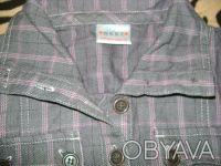 Продам тунику NEXT для девочки 8 лет 128 см , 100%cotton,цвет серый в розовую кл. Киев, Киевская область. фото 3
