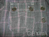 Продам тунику NEXT для девочки 8 лет 128 см , 100%cotton,цвет серый в розовую кл. Киев, Киевская область. фото 7