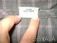 Продам тунику NEXT для девочки 8 лет 128 см , 100%cotton,цвет серый в розовую кл. Киев, Киевская область. фото 5