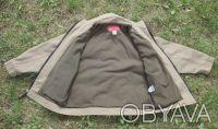 Удобная теплая практичная курточка с подкладкой на мальчика . Цвет защитный - св. Киев, Киевская область. фото 3
