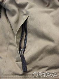 Удобная теплая практичная курточка с подкладкой на мальчика . Цвет защитный - св. Киев, Киевская область. фото 6