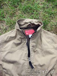 Удобная теплая практичная курточка с подкладкой на мальчика . Цвет защитный - св. Киев, Киевская область. фото 5