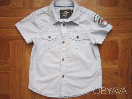 продам рубашечку на мальчика h&m, согласно этикетки на 2-3 года, в отличном сост. Суми, Сумська область. фото 1