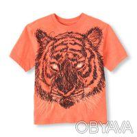 Новая футболка The Childrens Place для мальчика.  Футболка с тигром. В темноте. Киев, Киевская область. фото 2