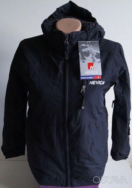 Куртка лыжная Nevica (Англия) для мальчика 7-8 лет - черная  Nevica - один из . Киев, Киевская область. фото 1