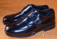 Брендовые кожаные лакированные туфли KENNETH COLE из Америки.. Киев. фото 1