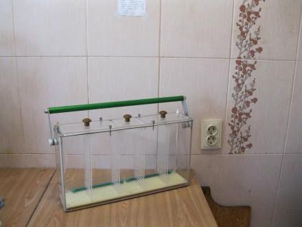 Продам -5 ти секционный,переносной аквариум из органического стекла, наружные ра. Одесса, Одесская область. фото 3