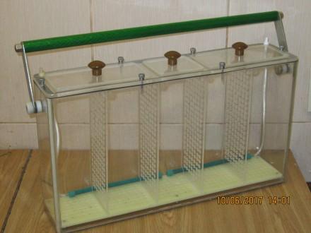 Продам -5 ти секционный,переносной аквариум из органического стекла, наружные ра. Одесса, Одесская область. фото 4