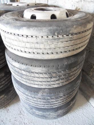 Грузова шина з титан. диском Michelin Goodyear 285/70/R19.5 оригінал. Львов. фото 1
