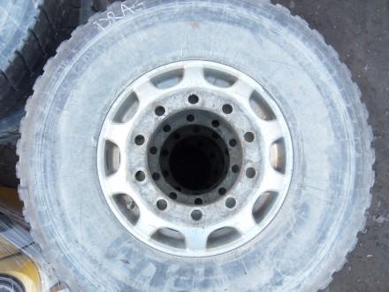 81453020707 шина з диском Man оригінал Michelin 13R22.5. Львов. фото 1