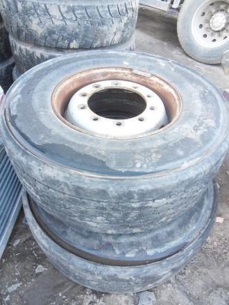 81453020725 шина з диском до вантажівки Michelin 385/65/R22.5 оригінал. Львов. фото 1