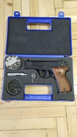 Пистолет пневматический Walther CP88 Holz  416.00.01 Вальтер. Харьков. фото 1