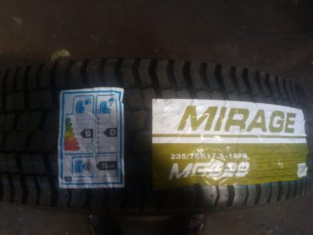 Нові всесезонні шини MIRAGE MG628 235/75 R17.5 [143/141] J 16PR. Доставка по Укр. Львов, Львовская область. фото 3