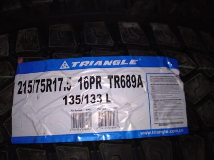 Triangle TR689( 215/75R17.5 135/133L). Львов. фото 1