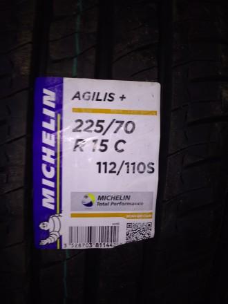 Нові Michelin Agilis Plus 225/70 R15C 112/110S. Доставка по Україні будь-яким пе. Львов, Львовская область. фото 2