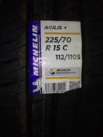 Нові Michelin Agilis Plus 225/70 R15C 112/110S. Доставка по Україні будь-яким пе. Львов, Львовская область. фото 4