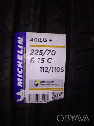 Нові Michelin Agilis Plus 225/70 R15C 112/110S. Доставка по Україні будь-яким пе. Львов, Львовская область. фото 1