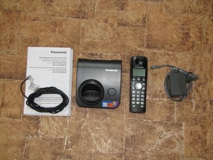 Продам радиотелефон Panasonic KX-TG7207UA. Херсон. фото 1