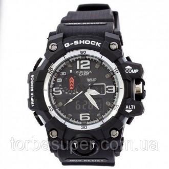 Мужские наручные часы (копия) Casio G-Shock GWG-1000 Black-White. Днепр. фото 1
