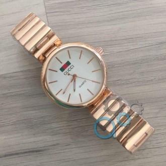 Женские наручные часы (копия) Gucci Cuprum-White. Днепр. фото 1