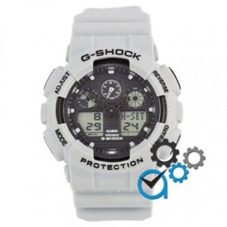 Мужские наручные часы (копия) Casio G-Shock GA-100 Grey. Днепр. фото 1