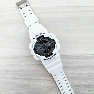 Мужские спортивные часы (копия) Casio G-Shock GA-110 White-Black New. Днепр. фото 1